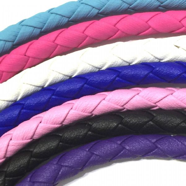 6mm synthetic soft leather cord for jewellery making